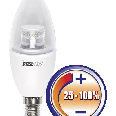 Лампа 7Вт С37 диммируемая jazzway/Китай