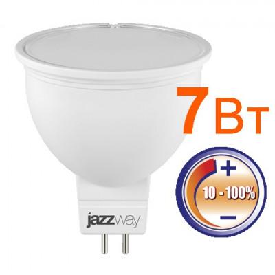 Лампа 7Вт jcdr диммируемая jazzway/Китай
